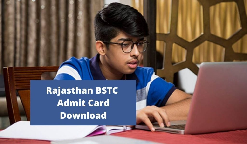 Rajasthan BSTC Admit Card 2021 predeled.com Exam Date, Hall Ticket Download